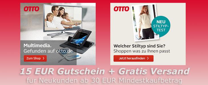 bei Otto versandkostenfrei und mit 10 Euro Gutschein bestellen