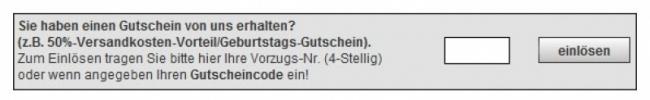 Gutschein-Hilfe buttinette-fasching.de
