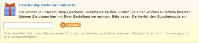 Gutschein-Hilfe Babyartikel.de