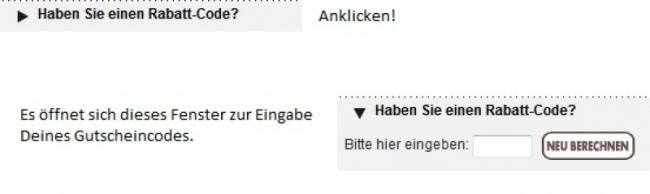 Gutschein-Hilfe KAUF-UNIQUE.de