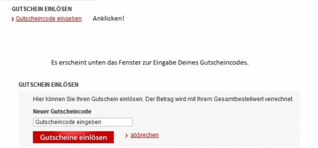 Gutschein-Hilfe MeinPaket.de