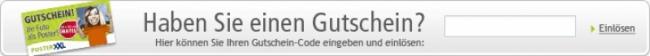 Gutschein-Hilfe posterXXL