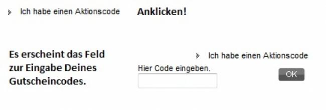Gutschein-Hilfe sarenza.de