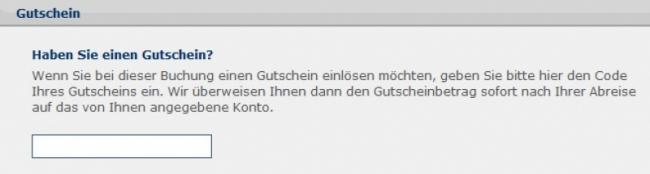 Gutschein-Hilfe TravelScout24