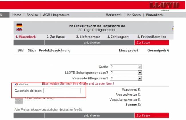 premium selection huge inventory new style Lloyd Gutschein: geprüfte 40% Rabatt Aktion