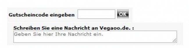 Gutschein-Hilfe vegaoo.de