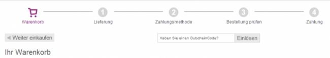 Gutschein-Hilfe vidaXL.de