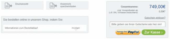 Gutschein-Hilfe tecstore.net