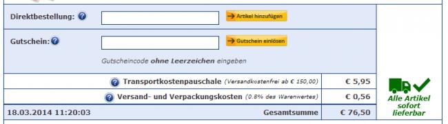 Gutschein-Hilfe Westfalia