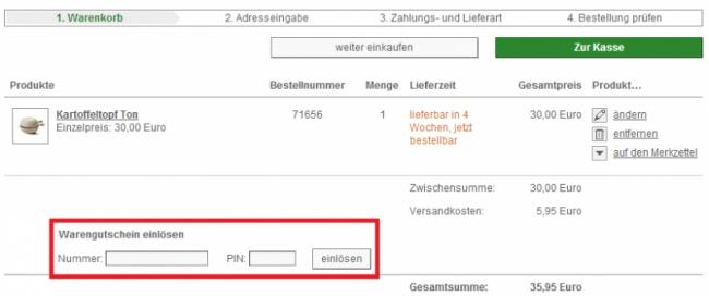 34a3dd1648659f Gutschein-Hilfe Manufactum