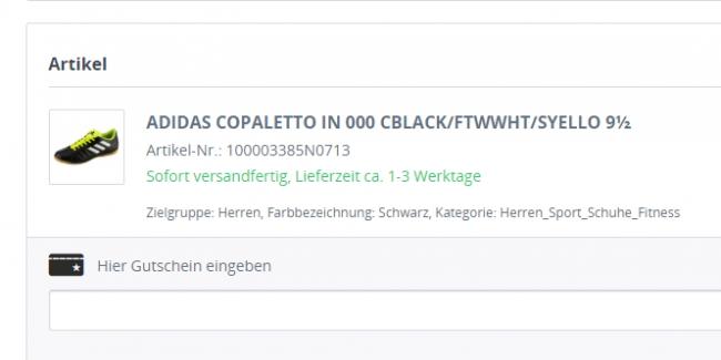 969c6d271d7d08 Sportmarken24 Gutschein  gültiger 5€ Gutschein