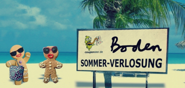 Couponster Sommerverlosung!