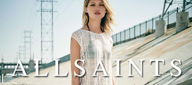 Das Label AllSaints mit dem Rock'n'Roll Chick ist hierzulande heiß begehrt bei jungen, modebewussten Frauen.