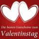 Valentins-Gutscheine für Verliebte & Singles