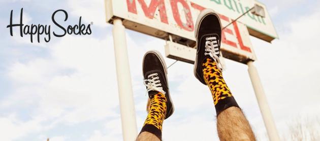 Happy Socks wurde mit einer besonderen Vision gründet: Socken & Strümpfe, ein alltägliches Kleidungsstück, in ein farbenfrohes Designerstück zu verwandeln, das gleichzeitig Fröhlichkeit vermittelt.