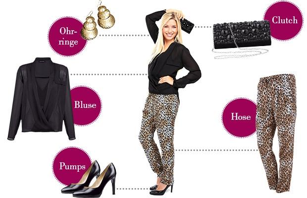 Laura gibt Style-Tipps im Klingel-Magazin