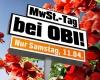 NUR AM 11.04.- 19% Mehrwertsteuer bei OBI sparen
