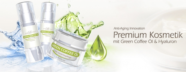JamieBrooklyn Pflegeprodukte mit Green Coffee Öl