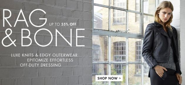 Spare bis zu 75% auf Designermode bei The Outnet