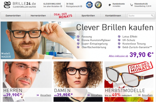 Shopvorstellung: Brille24.de