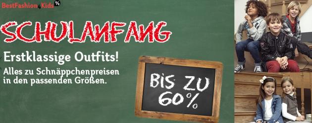 Mit bestfashion4kids Gutschein kräftig sparen - dank Couponster.de
