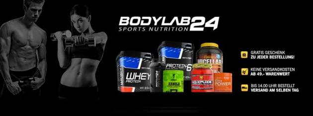 Bodylab24 macht Dich fit!
