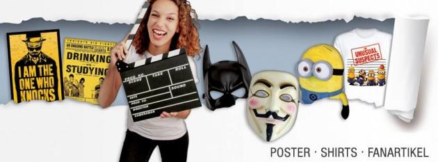 Poster, Shirts und Fanartikel von CloseUp