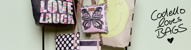 auch Taschen bietet der Codello Online-Shop