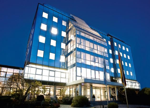 die Conrad Unternehmenszentrale in Hirschau