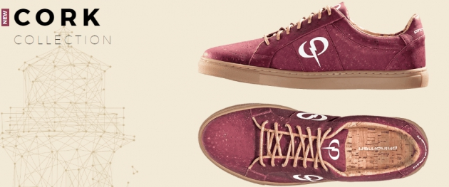 Rote Sneaker aus Kork: die Cork Collection von Phinomen