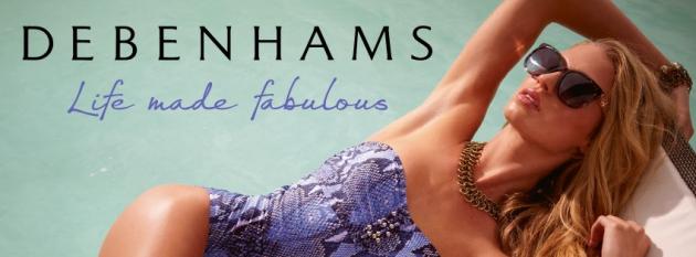 Debenhams - Luxusmode für alle