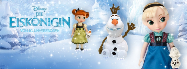 Die Eiskönigin im Disney Store
