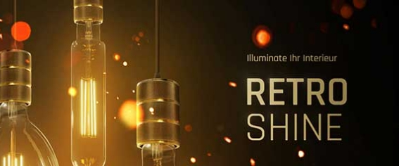 LED Retro Shine von LED-Homeshop