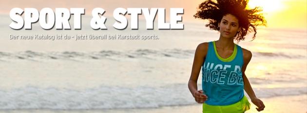 Sportkleidung, Equipment und mehr bei Karstadt Sports bestellen