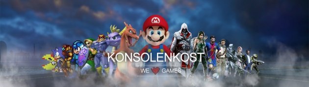 Konsolenkost liebt Games!