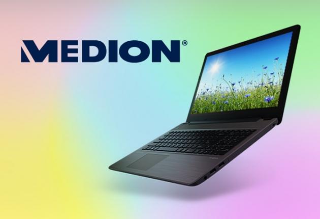 günstige Laptops und vieles mehr findest Du im Medion Online-Shop