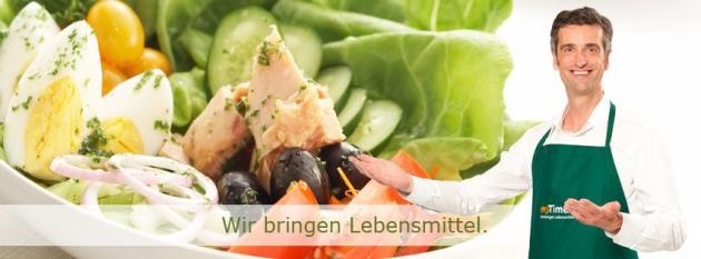 myTime.de bringt Dir Lebensmittel - zuverlässig und günstig