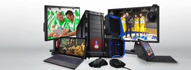 Desktop-PCs und Laptops von one Gaming