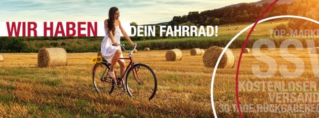 Radonline.de hat Dein Fahrrad