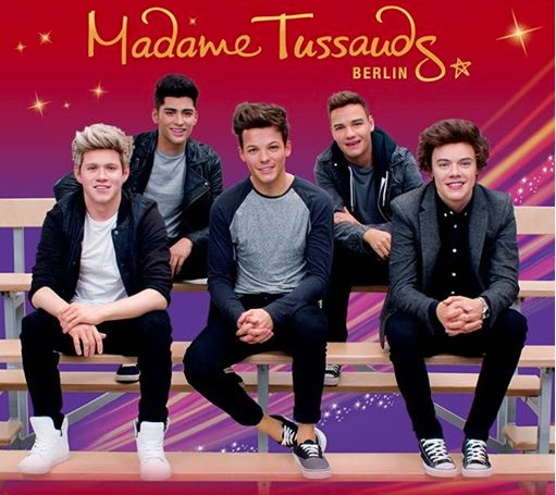 One Direction bei Madame Tussauds