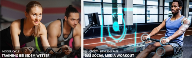 Training bei jedem Wetter, Das Social Media Workout