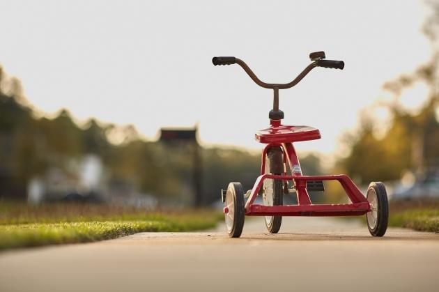 Hier findest Du Laufräder, Dreiräder, Popo-Rutscher und Kinderfahrräder