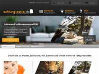 Screenshot von achtung-poster.de