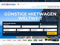Screenshot von Auto Europe