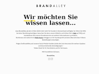 Screenshot von BrandAlley
