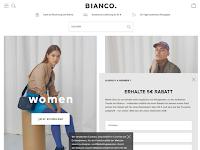 Screenshot von Bianco
