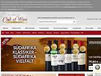 Screenshot von Club of Wine