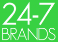 Screenshot von 24-7 Brands