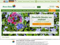 Screenshot von Ahrens+Sieberz