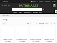 Screenshot von Nutribullet